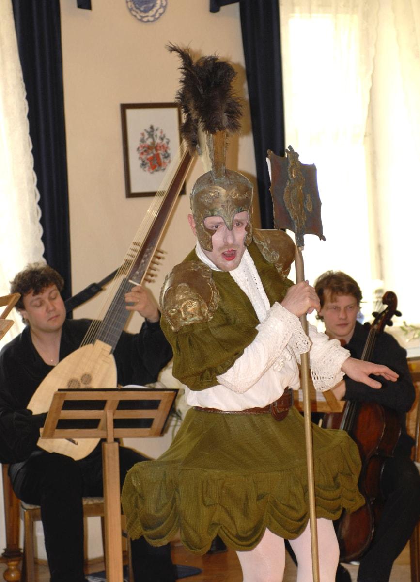 Zámek Bludov - barokní opera