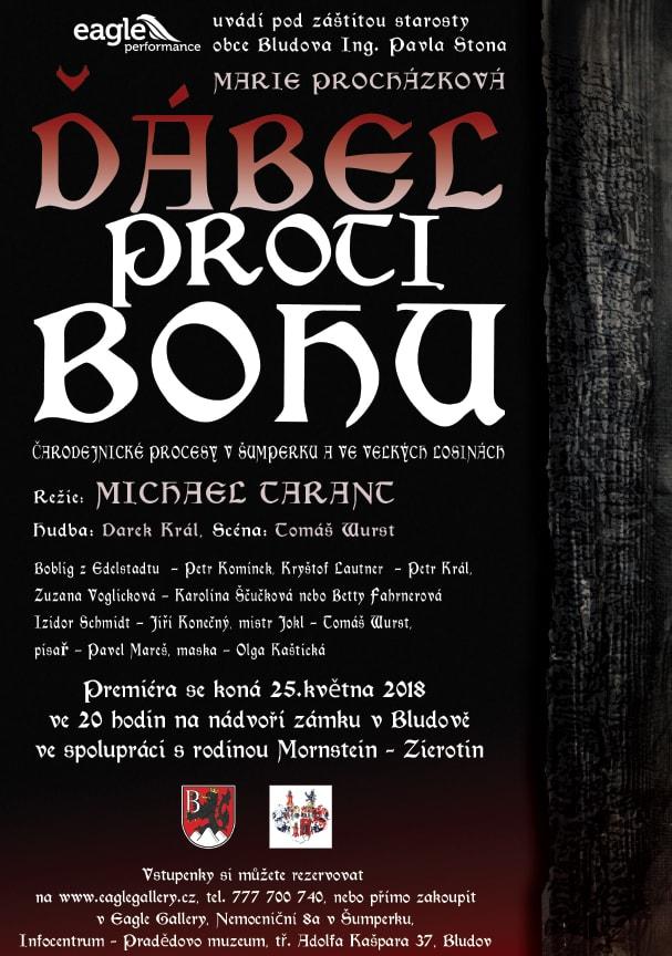 Zámek Bludov - divadelní představení Ďábel proti Bohu