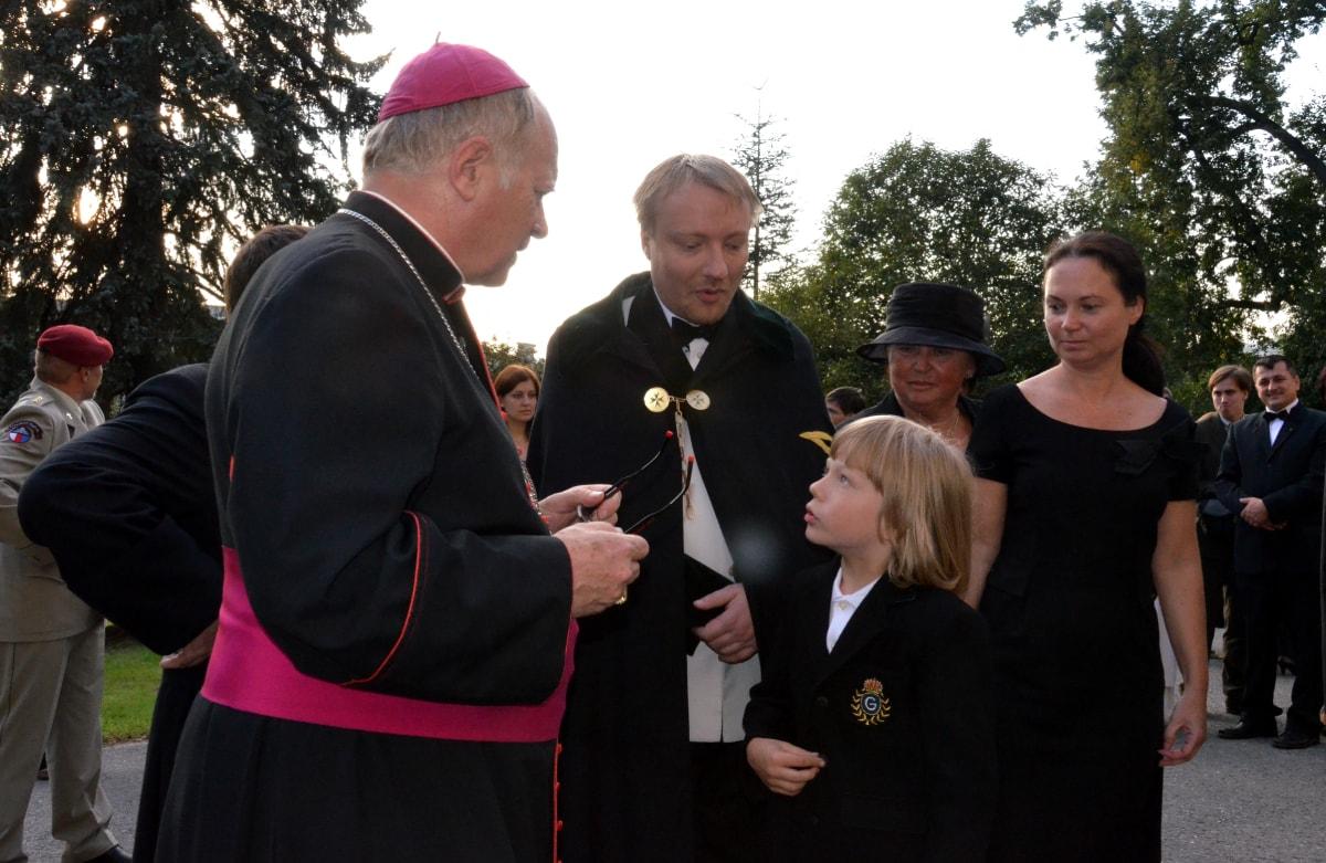 Zámek Bludov - Olomoucký biskup František V. Lobkowicz