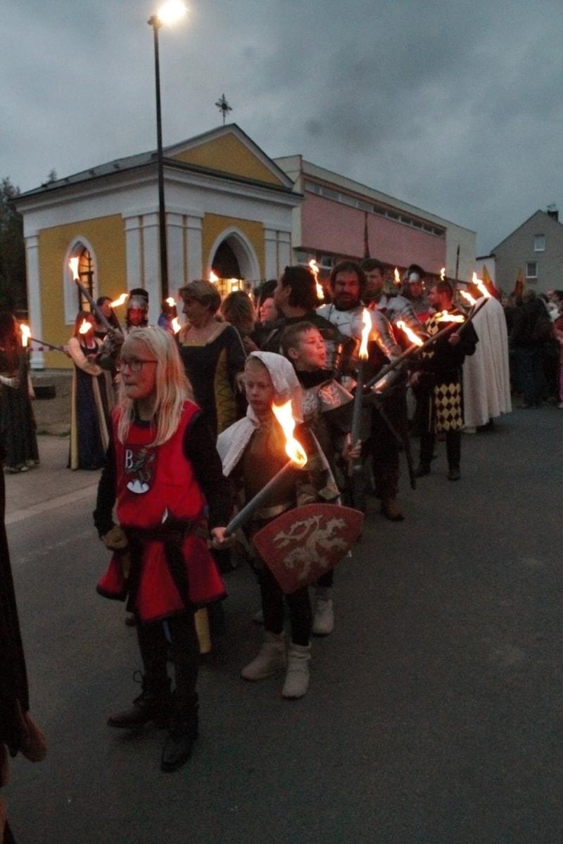 Zámek Bludov - Žerotínské slavnosti 2015