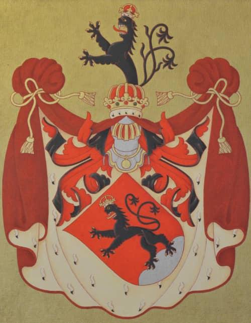 Zámek Bludov u Šumperka - erb šlechtického rodu Zierotin (Žerotínů)